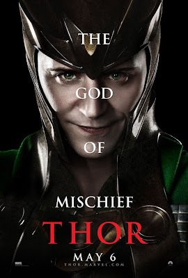 Thor Character Movie Poster Set 1 - Tom Hiddleston as Loki, The God of Mischief