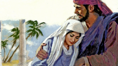 Abrão e Sarai, um casal abençoado.