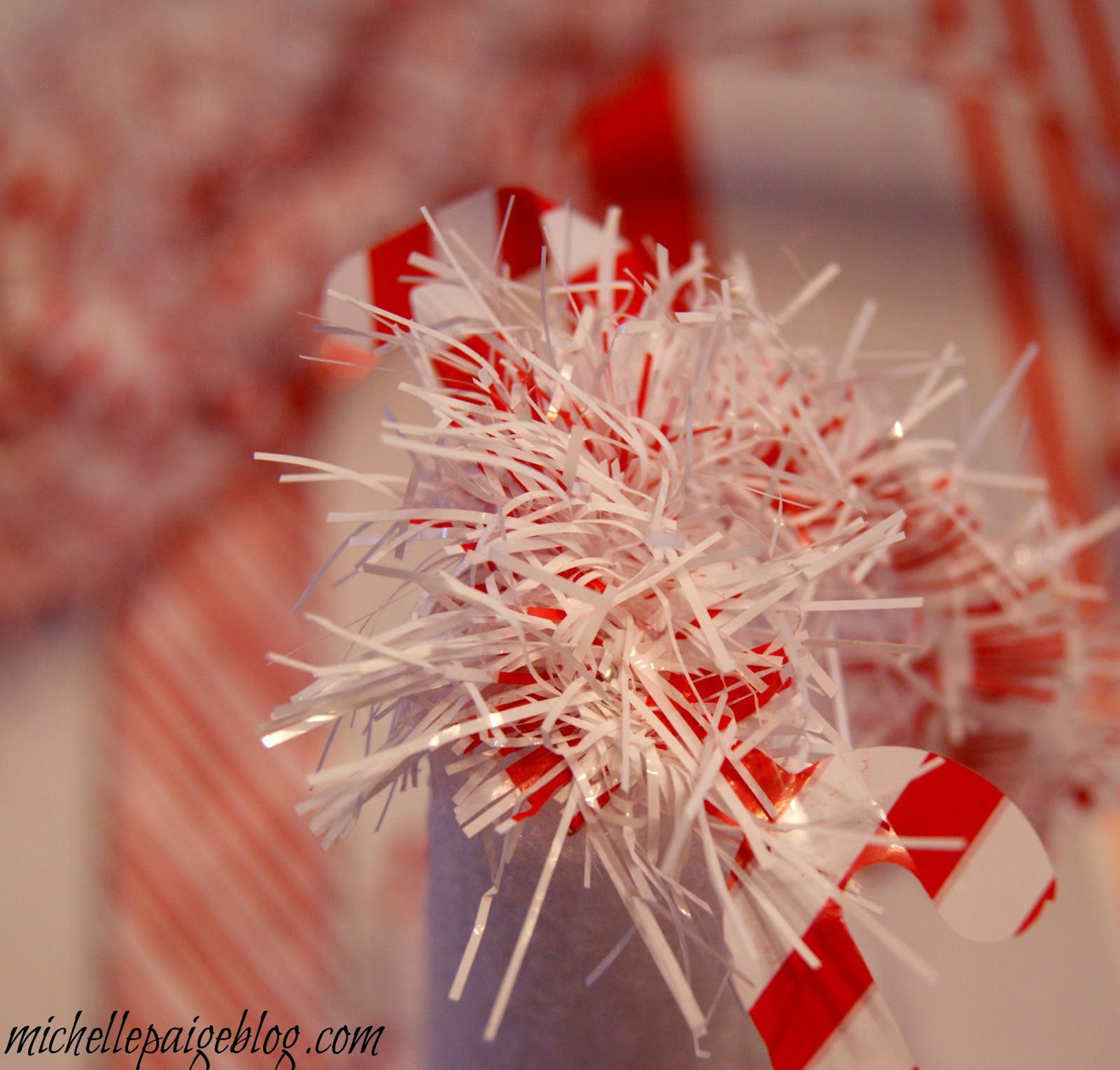 Michelle Paige Blogs: Easy Decorated Styrofoam Christmas Trees