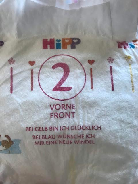HIPP Babysanft Windeln - Mit Nässeindikator