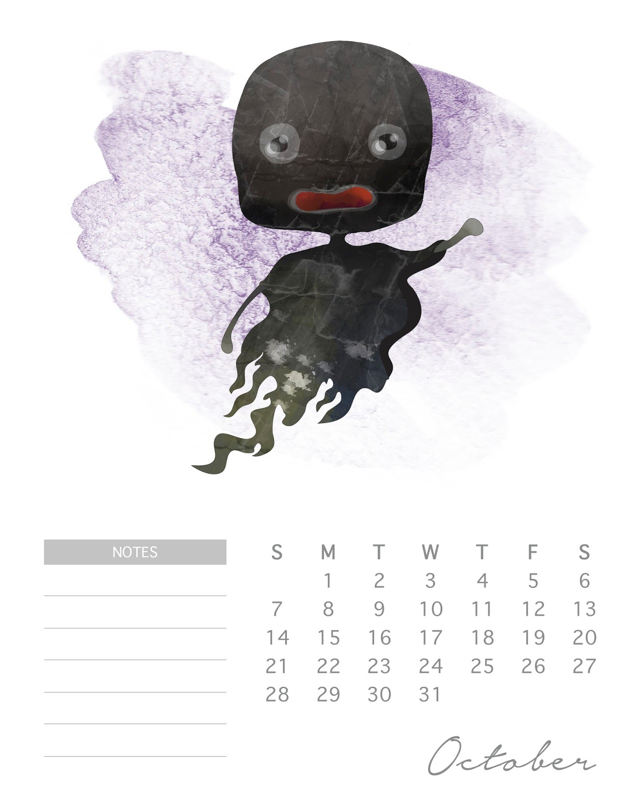Calendario 2018 de Harry Potter para Imprimir Gratis. | Oh ...
