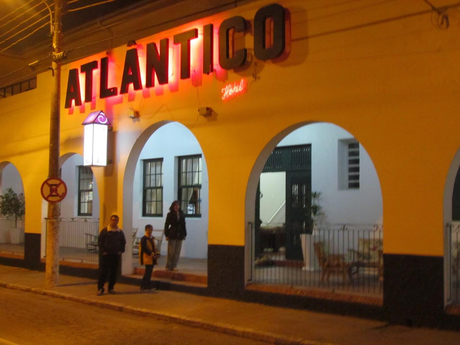 Hotel Atlântico/Praia do Cassino/RS