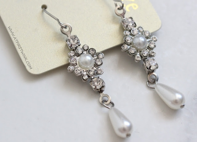 Accessorize pearl earrings