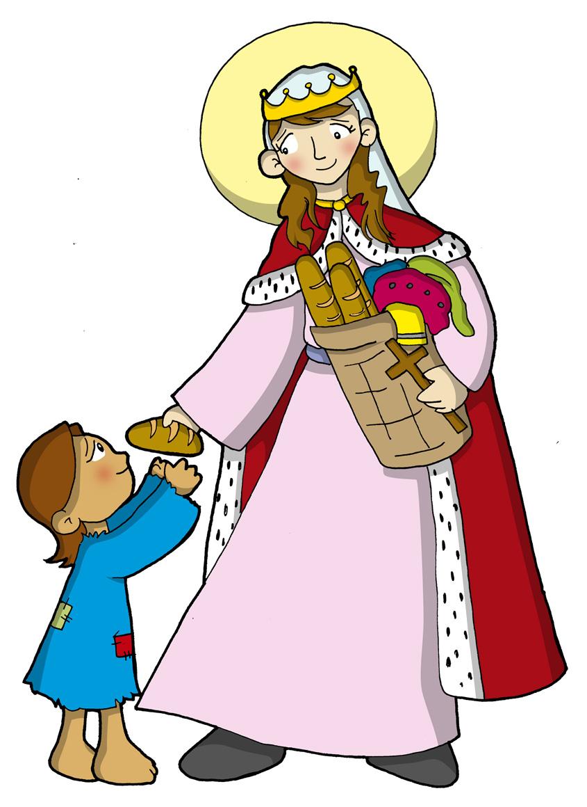 Santa Isabel de Hungria Biografia, Imagenes, Historia