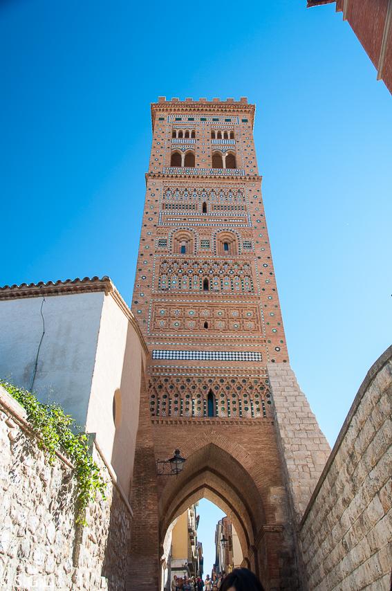 Torre de San Martin. Visitando Teruel del mudejar al modernismo