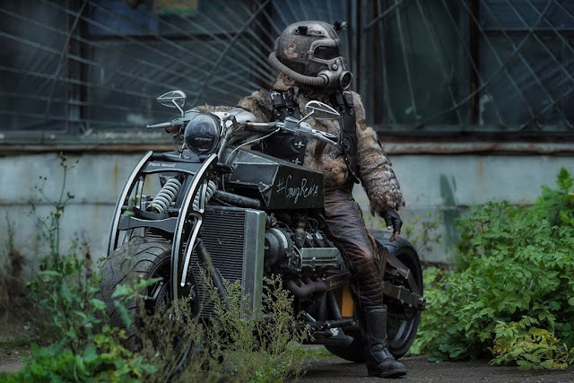 Post Apocalyptic Gangrene is Powered by Lexus V8 Engine