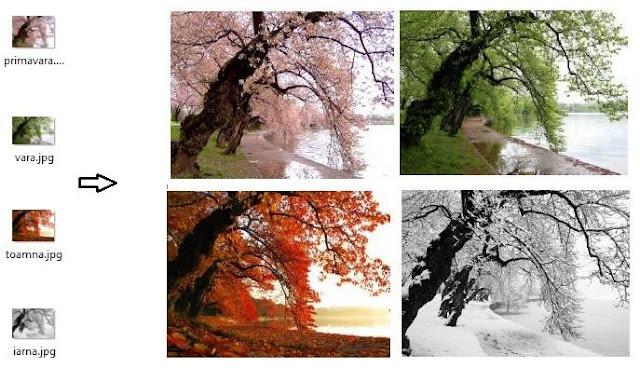 Cum se imbina mai multe imagini in Paint