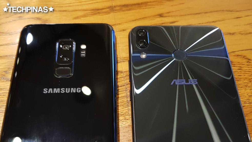 Asus ZenFone 5 vs Samsung Galaxy S9+