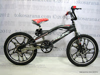 1 Sepeda BMX Pacific X-Cross Racing Free Style 20 Inci