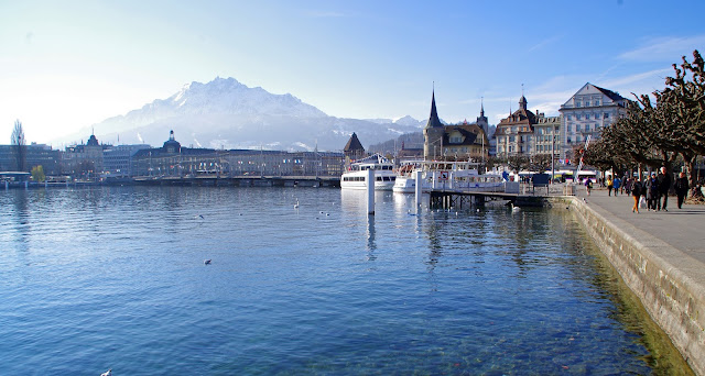 Lake Lucerne and Old Town