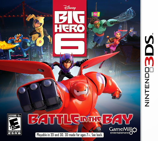 Big Hero 6: Battle in the Bay 3DS