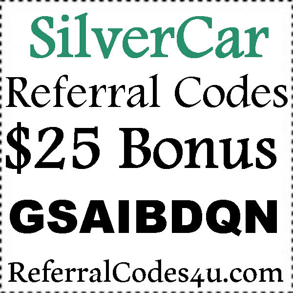 Silvercar Referral Code 2021-2022 Silvercar Refer A Friend, Silvercar.com Promo Codes July, August, September