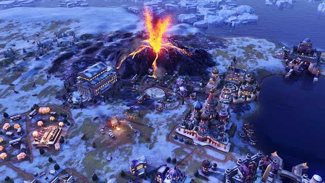 Screenshot from Civilization VI: Gathering Storm