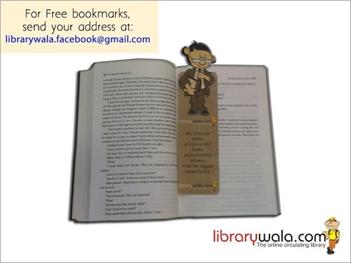 Free Librarywala Bookmarks