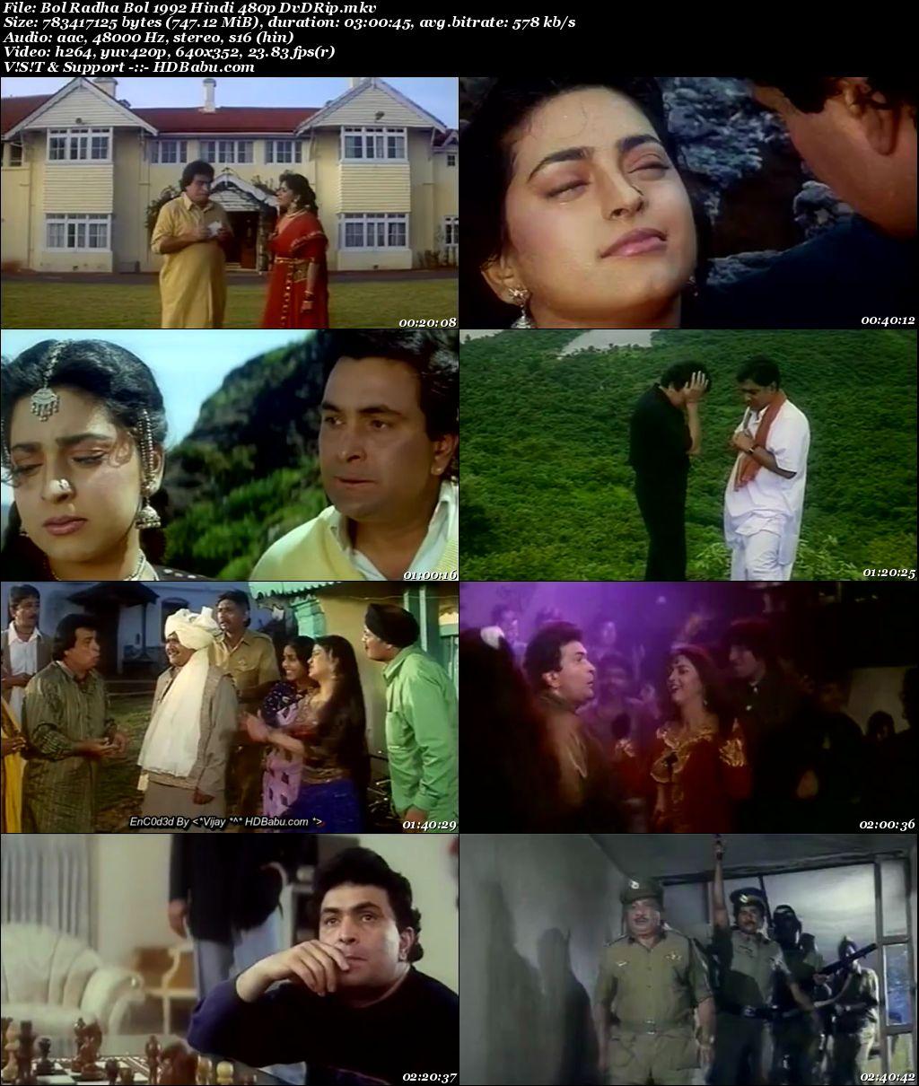 Bol Radha Bol Full Movie Download