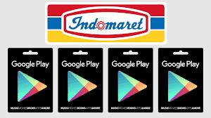 Cara Membeli Voucher Google Play di Indomaret