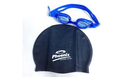 Kính bơi mũ bơi Phoenix