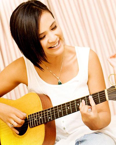 Chord Gitar Ungu: Chord Gitar Oppie Andaresta - Single Happy