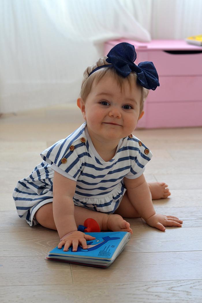 abito marinaro righe neonata