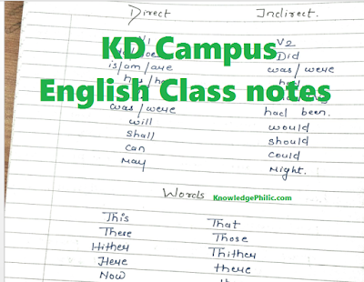 [Download] KD Campus English Class Notes PDF