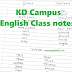 [Download] KP Campus English Class Notes PDF