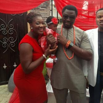 mercy johnson baby daughter dedication