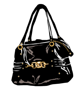 adf4b5556 Bolsa de ombro: são bolsas versáteis, podendo ter o tamanho médio ou grande  (maxi bolsas). Os modelos mais usados incluem os formatos arredondado, ...