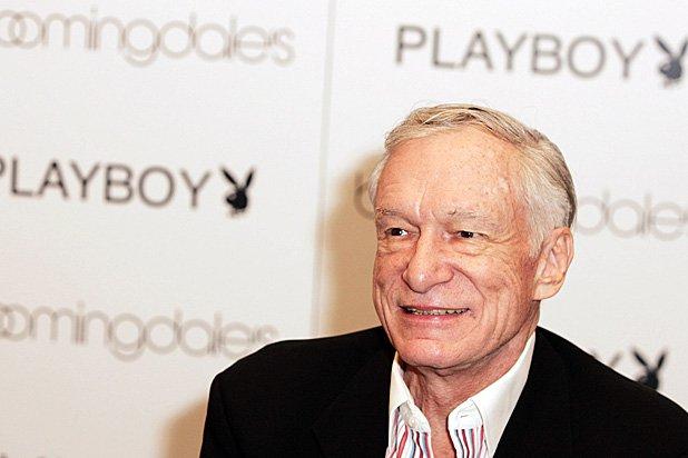 The founder of Playboy magazine  Huge Hefner