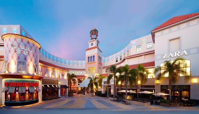 Shoppings e Outlets para fazer compras em Miami e Orlando
