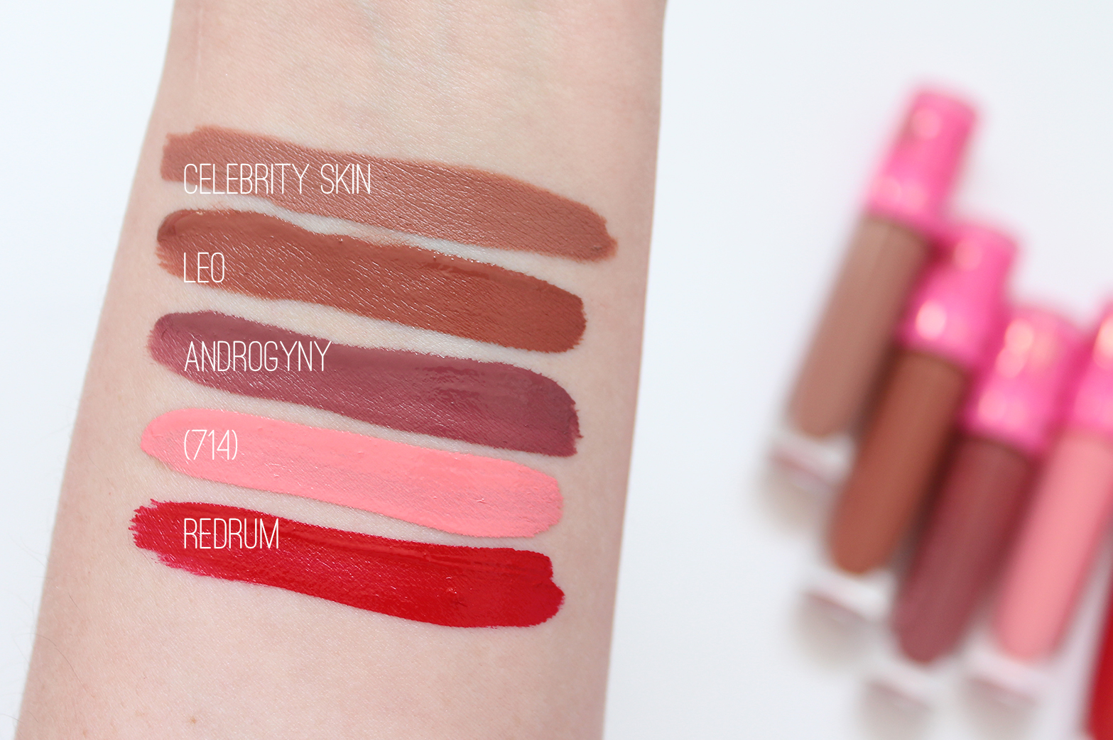 JEFFREE STAR | Velour Liquid Lipstick Collection + Swatches - CassandraMyee