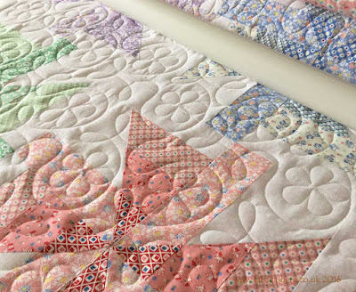 Fabadashery Longarm Quilting Jelly Roll Quilt And Celyn