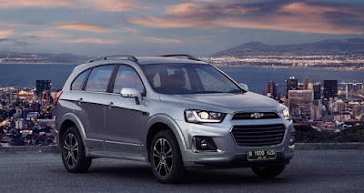 dealer chevrolet medan - new captiva 2017