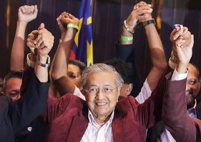 Nuevo primer ministro de Malasia tiene 92 años