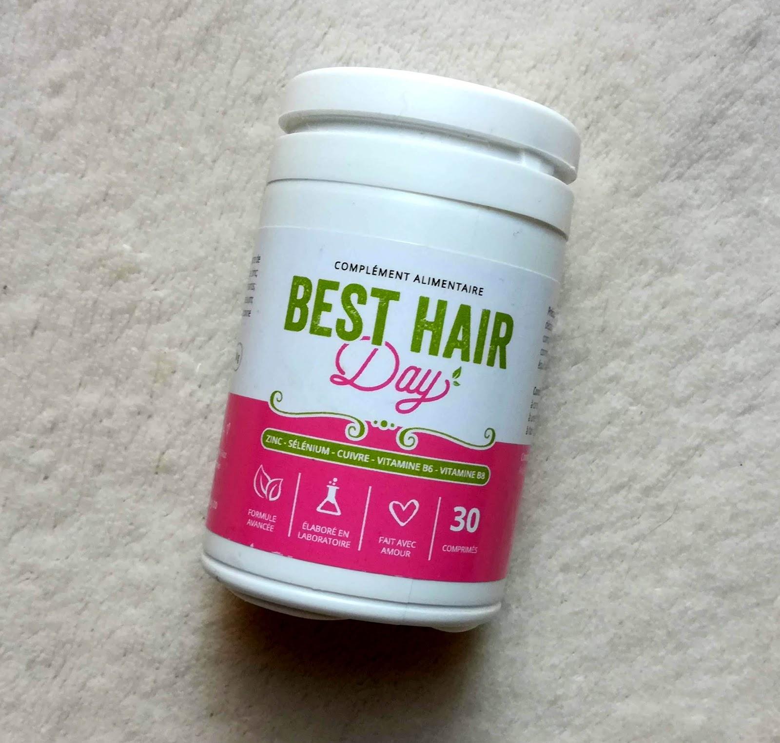 BEST HAIR DAY, complément alimentaire pour la pousse des cheveux