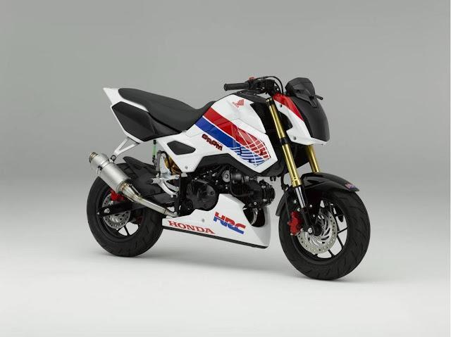 2016 Honda Grom Race Bike from HRC