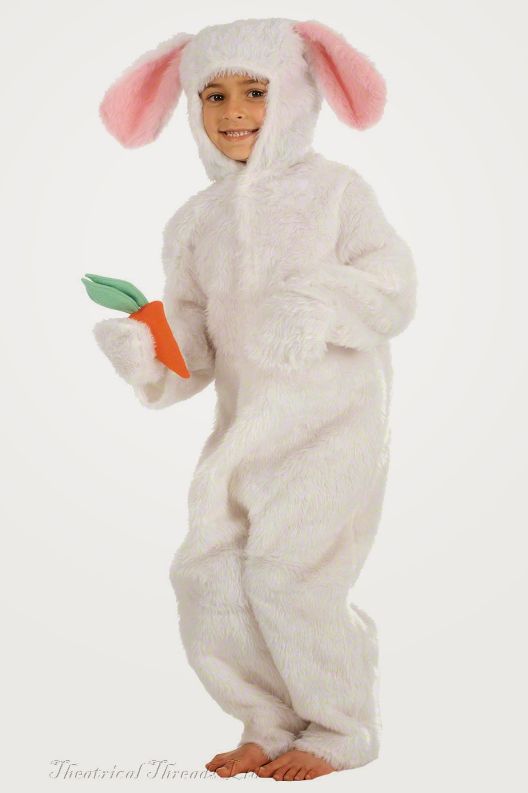 Kids White Rabbit Costume from Theatrical Threads