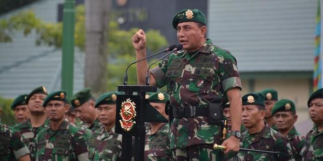 Panglima TNI: 'Tak Perlu Izin saya' Pangkrostrad Daftar Cagub Sumut