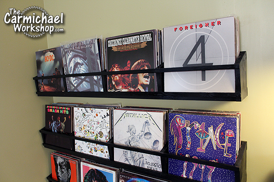 Vinyl Record Storage by The Carmichael Workshop