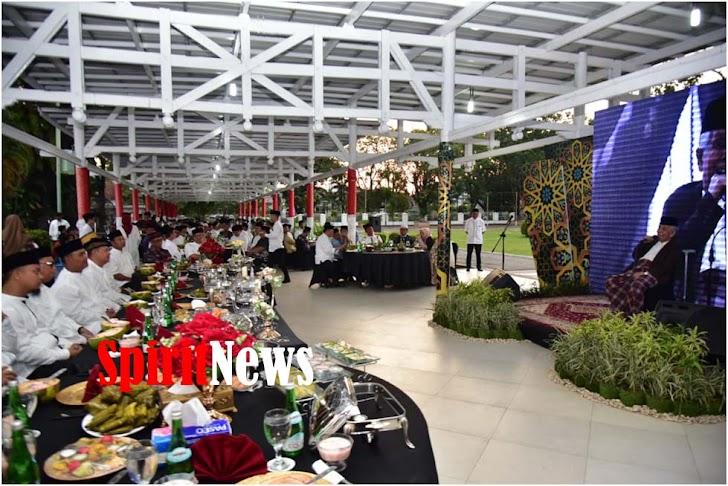 Pemprov Sulel, Gelar Buka Puasa Bersama TNI-Polri dan Masyarakat se Kota Makassar