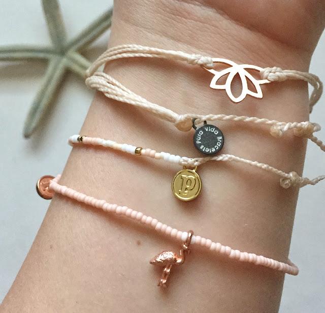 Pura Vida bracelets give back