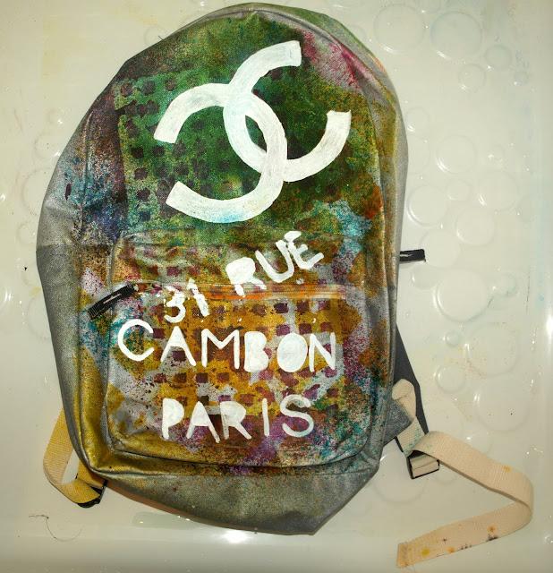 DIY Chanel Bricolage backpack