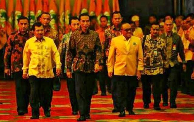 Presiden Jokowi Diminta Waspadai Gerakan Politik Golkar