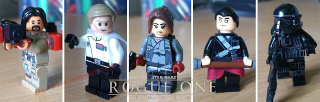 Изгой один Звездные войны фигурки лего купить