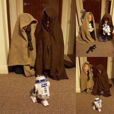 The Jawa capture the droids star wars