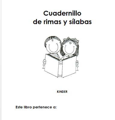 cuadernillo rima y silabas