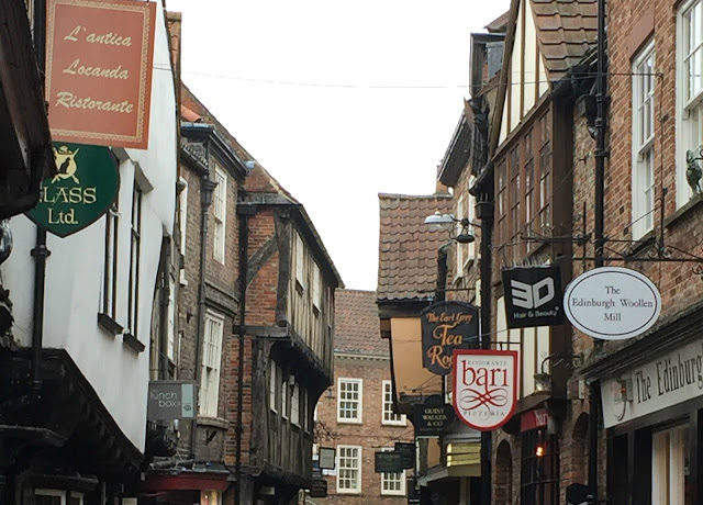 York Shambles street