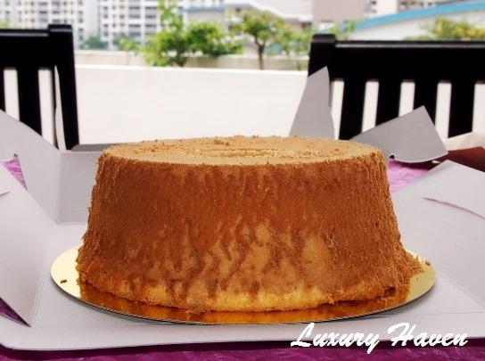 budofjoy organic orange chiffon cake