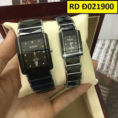 đồng hồ cặp đôi Rado RD D021900