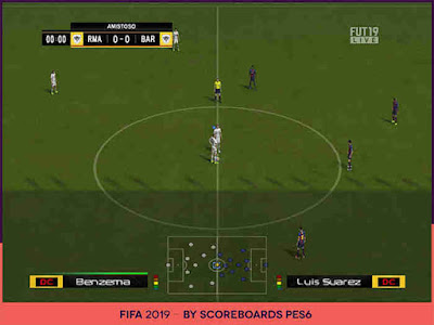 PES 6 Scoreboards FIFA 19 by Scoreboards PES 6