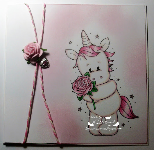 Unicorn with Rose